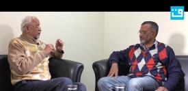 قومی آواز کے مدیر اعلیٰ ظفر آغا (بائیں) اور سیاسی مدیر سید خرم رضا (دائیں)
