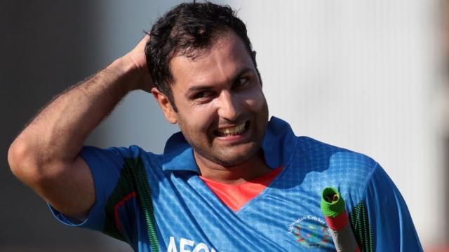 افغانستان کے کرکٹ کھلاڑی محمد نبی