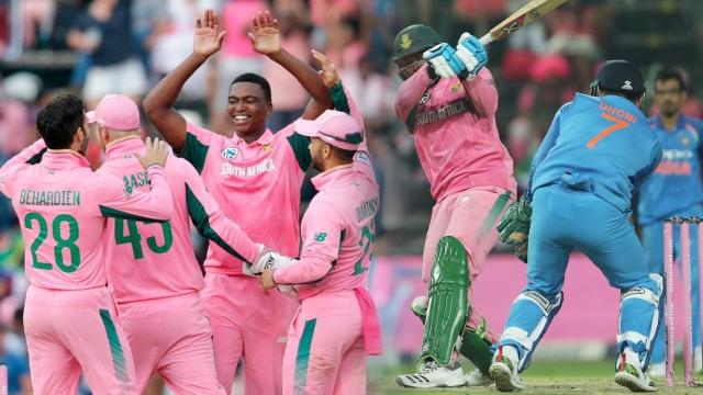 چوتھے ایک روزہ مقابلہ میں جنوبی افریقہ نے 5 وکٹ سے جیت درج کر لی