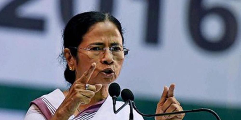 مغربی بنگال کی وزیر اعلیٰ ممتا بنرجی