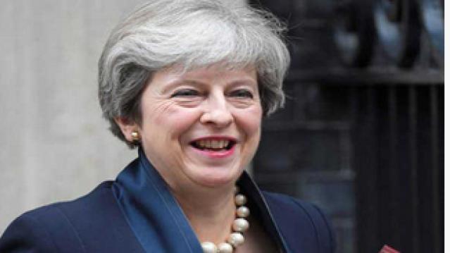 برطانیہ کی وزیر اعظم ٹریسا مئے