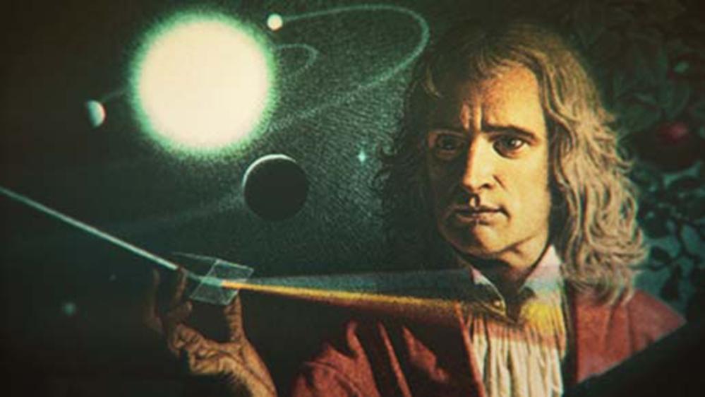 نیوٹن کی علامتی تصویر