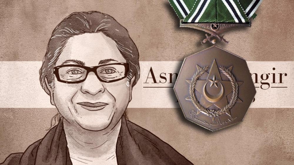 عاصمہ جہانگیر کو ملے گا نشان امتیاز