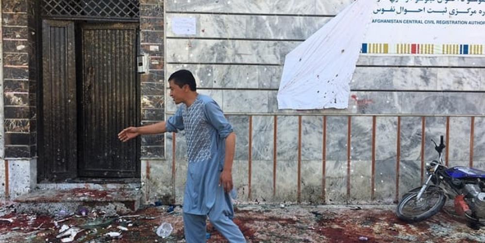 افغانستان میں خود کش بم دھماکے میں 48 افراد ہلاک