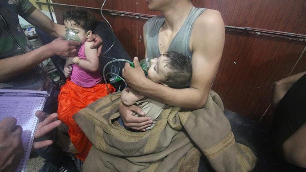 شامی فوج کے کیمیائی حملہ میں 70 افراد ہلاک ہوئے ہیں۔