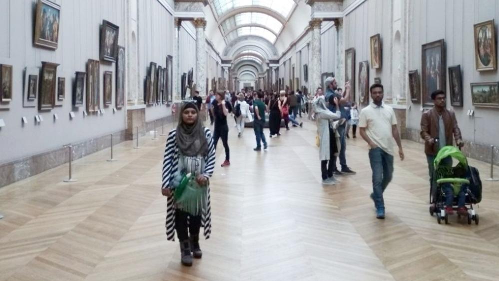 پیرس میوزیم کا ایک منطر