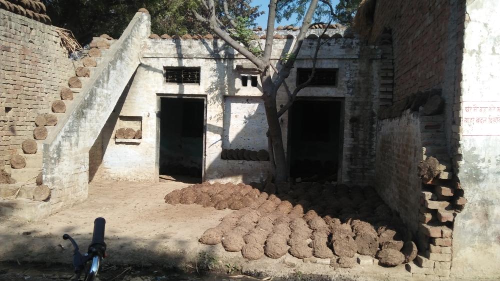 بڈھانا کے فساد متاثرین کا ایک گھر جہاں وہ لوٹ کر نہیں آئے