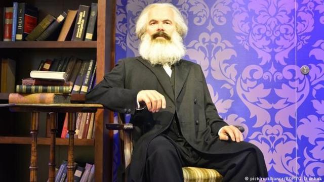 جرمن دانشور اور فلسفی کارل مارکس