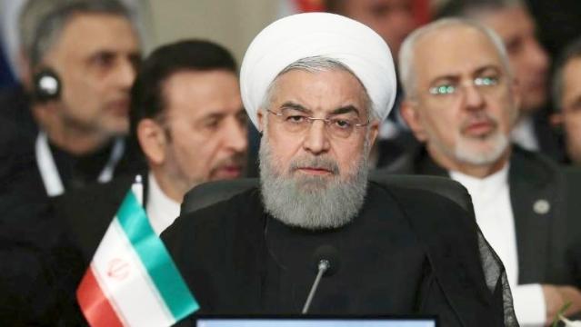 ایرانی صدر حسن روحانی