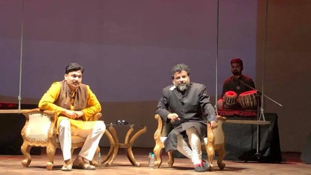 ڈرامہ 'قصہ اردو کی آخری کتاب کا' کا منظر