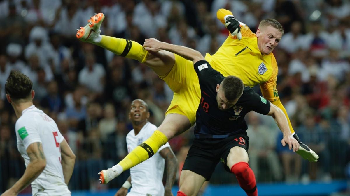 فیفا ورلڈ کپ: کروشیا نے انگلینڈ کے خواب کو کیا چکنا چور
