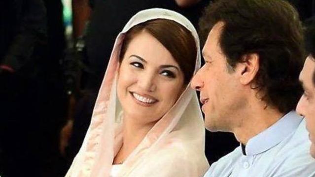 عمران خان اور ریحام خان کی فائل تصویر