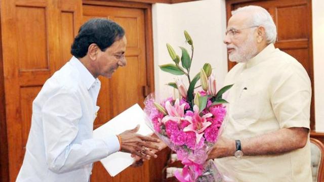 نریندر مودی سے چندرشیکھر کی ایک ملاقات کی فائل تصویر