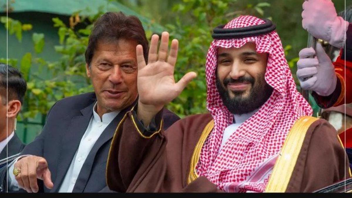 عمران نے سعودی عرب کے ولی عہد سے کشمیر کے حالات پر تبادلہ خیال کیا