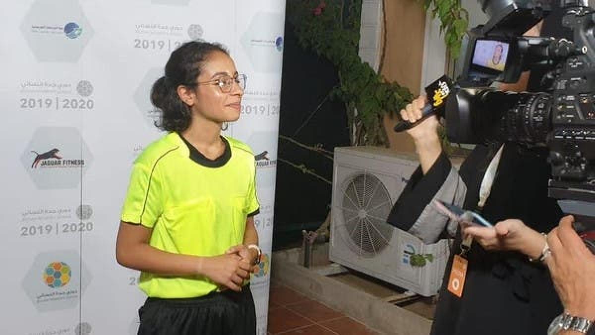 سعودی عرب کی پہلی خاتون 'فٹبال ریفری' - شام الغامدی