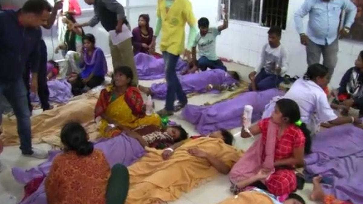 اڈیشہ: 'جھینگا مچھلی فیکٹری' میں گیس لیک، 100 سے زیادہ مزدور اسپتال میں داخل