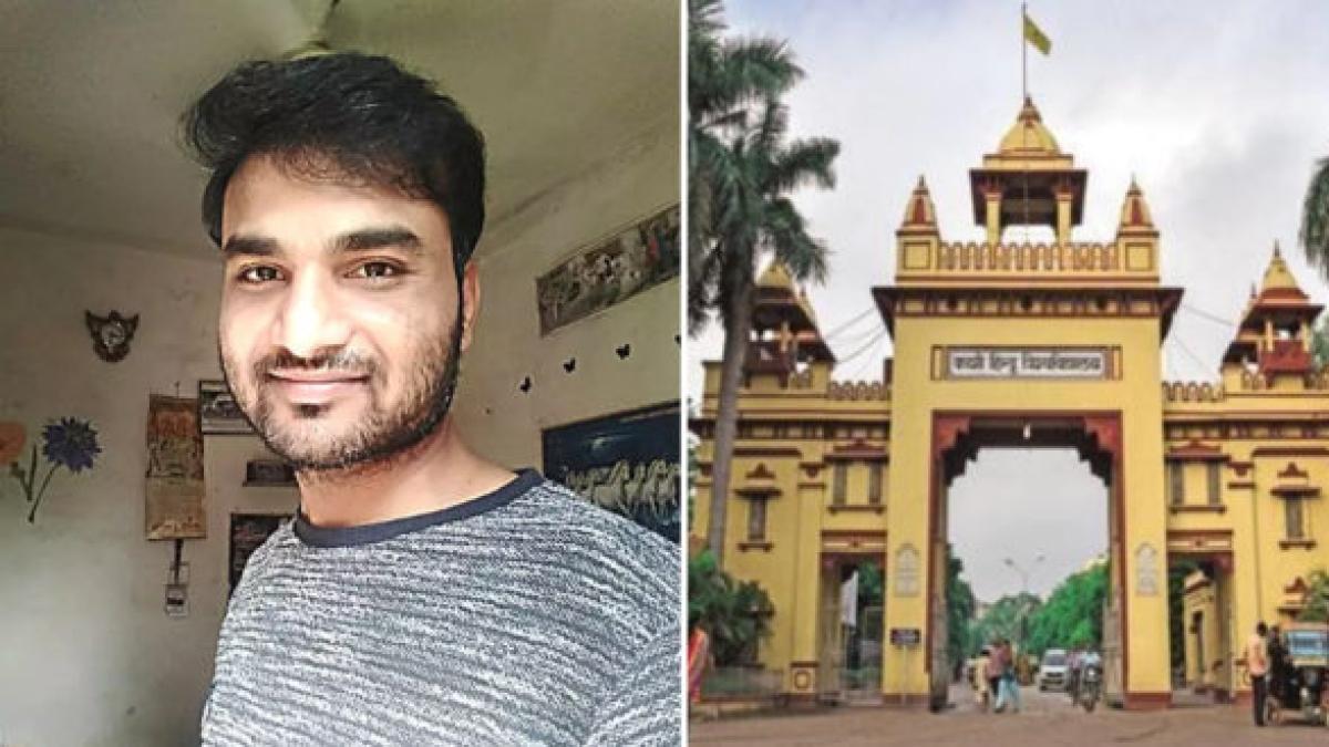 BHU: ہندو طلباء کی مخالفت کا سامنا کر رہے 'مسلم پروفیسر' کی حمایت میں کھڑے ہوئے کئی طلباء