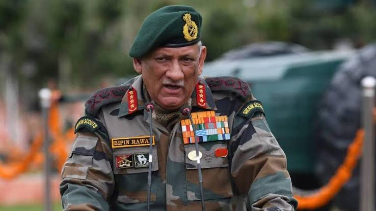 جنرل بپن راوت