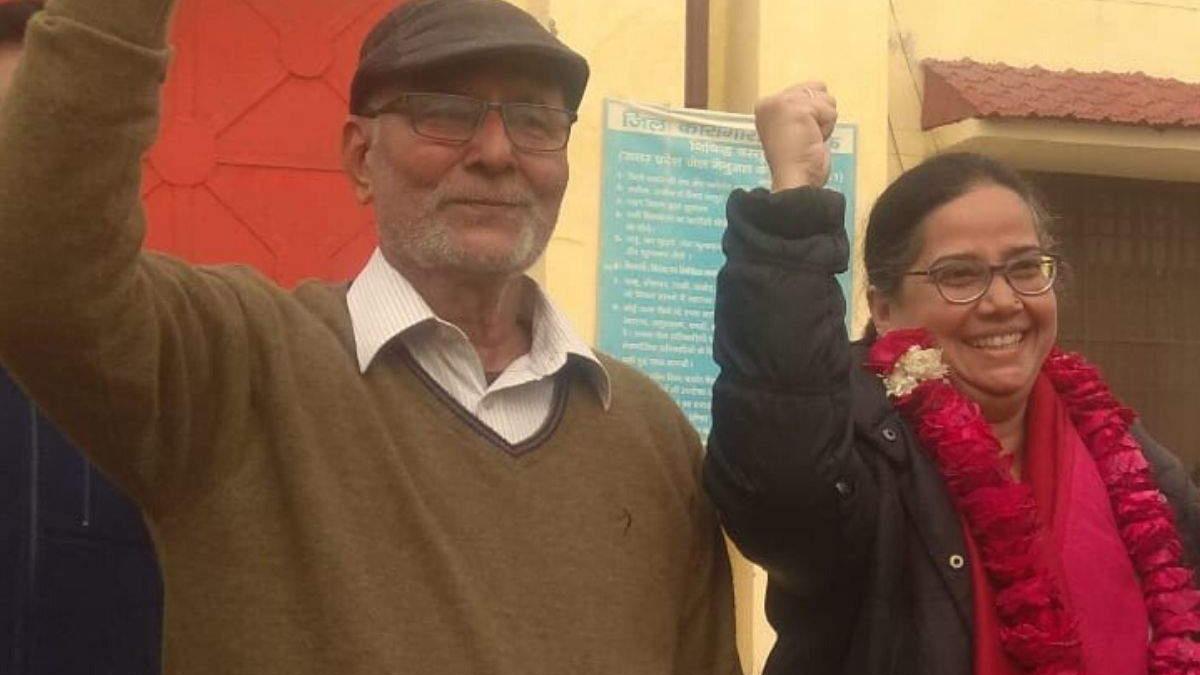 لکھنؤ: صدف جعفر اور داراپوری جیل سے رہا، سی اے اے کی واپسی تک جنگ جاری رکھنے کا عزم