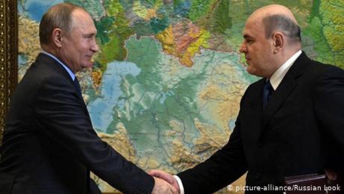 صدر پوٹن کا نامزد وزیراعظم روسی پارلیمان کو منظور