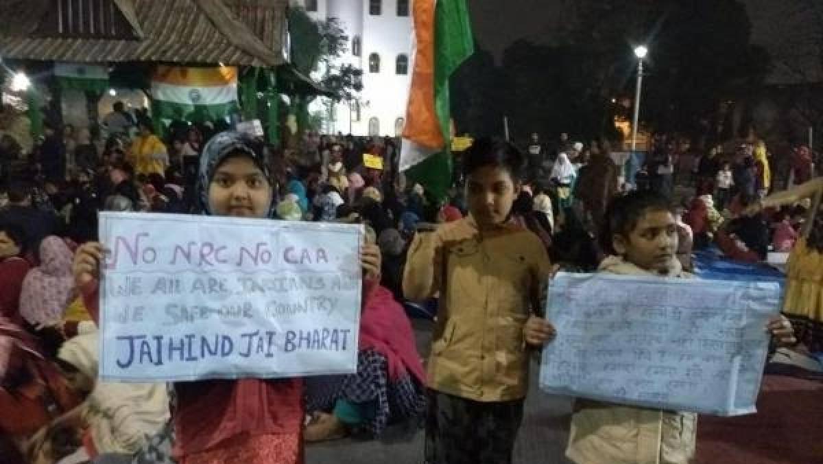 شہریت قانون: ٹینٹ، روشنی اور مائک کے بغیر 'پارک سرکس' میں خواتین کا احتجاج جاری