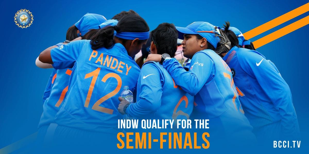 نیوزی لینڈ پر دلچسپ جیت سے ہندوستانی خاتون ٹیم سیمی فائنل میں