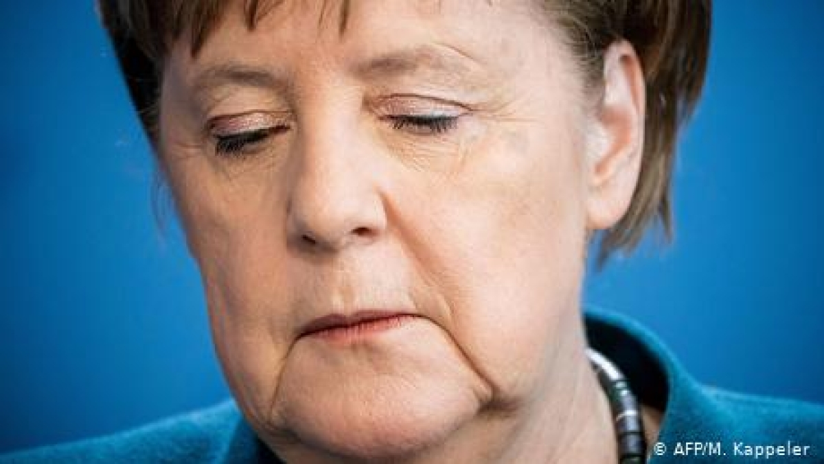 جرمن چانسلر انگیلا میرکل بھی احتیاطی قرنطینہ میں