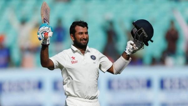 ICC टेस्ट  रैंकिंग में  चेतेश्वर पुजारा छठे नंबर पर हैं
