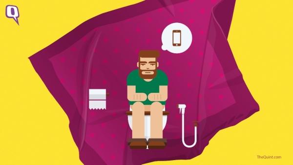 शौचालय में फोन ले जाने जैसी रोजमर्रा कीआदतें आपको बीमार कर सकती है