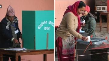 नेपाल के लोगों को उम्मीद है कि इस चुनाव के बाद उनके देश में राजनीतिक स्थिरता आएगी
