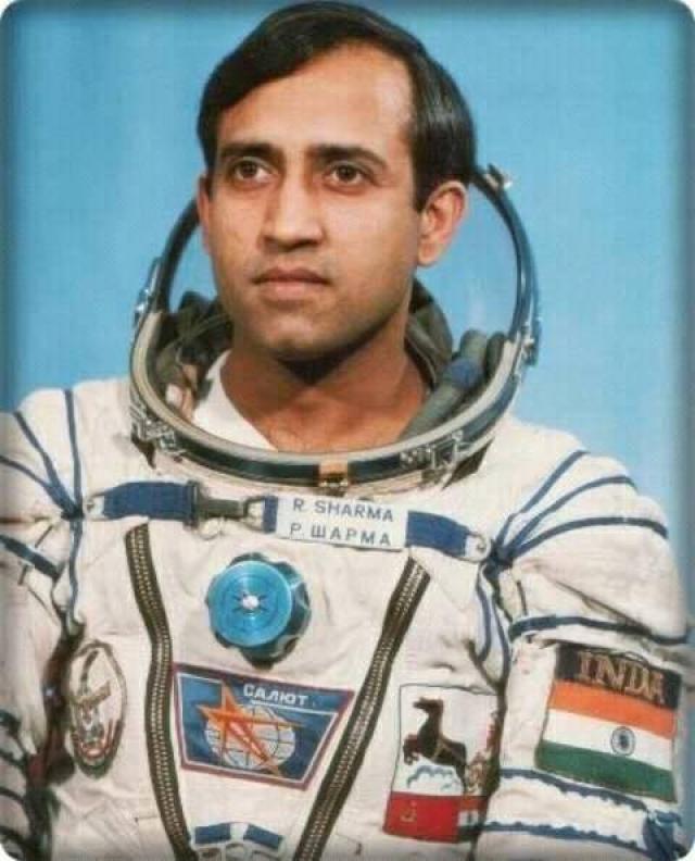 भारत के पहले  अंतरिक्ष यात्री हैं राकेश शर्मा