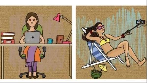 जो मां बने रहते हुए भी अपने लिए फैसले लेती है.