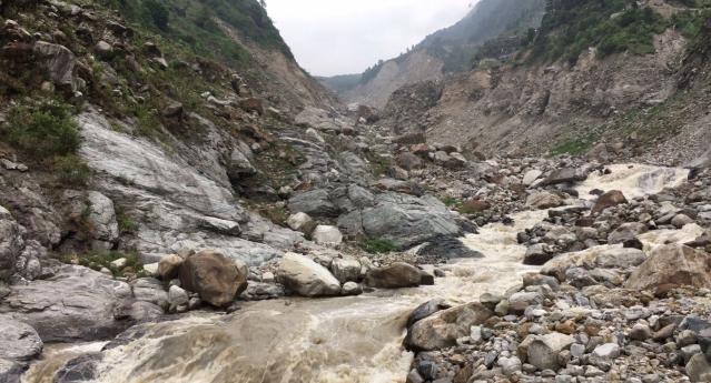 उत्तराखंड: जून 2013 में आई आपदा से पहले रामबाड़ा काफी चहल पहल वाला इलाका हुआ करता था