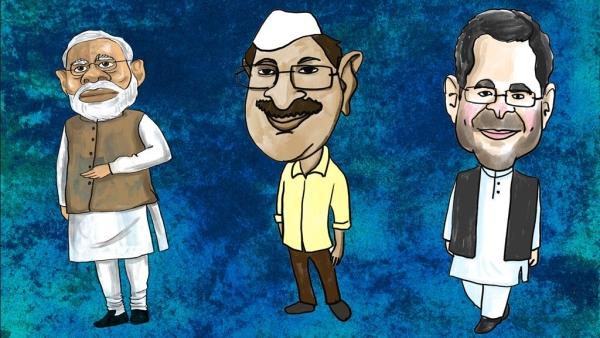 दिल्ली की तिकोणी सियासी लड़ाई में 'आप' और कांग्रेस की तल्खी का सीधा फायदा बीजेपी को है