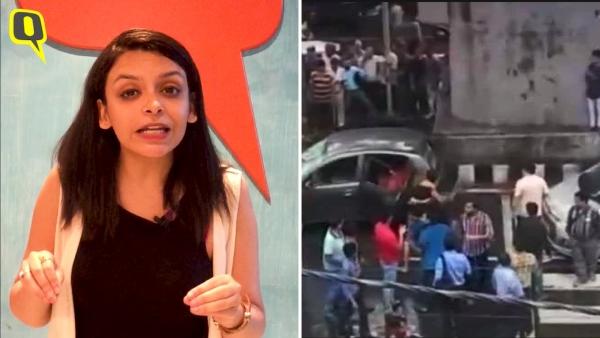 दिल्ली के मोती नगर में 7 अगस्त को कुछ शिव भक्त कांवड़ियों ने  उत्पात मचाया था