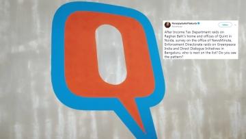 द क्विंट के दफ्तर पर इनकम टैक्स रेड की चौतरफा आलोचना