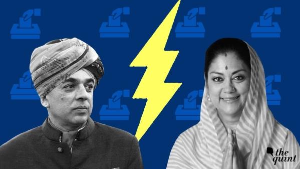 राजस्थान: 'आजादी आएगी' नारे के साथ वसुंधरा के आगे उतरे मानवेंद्र
