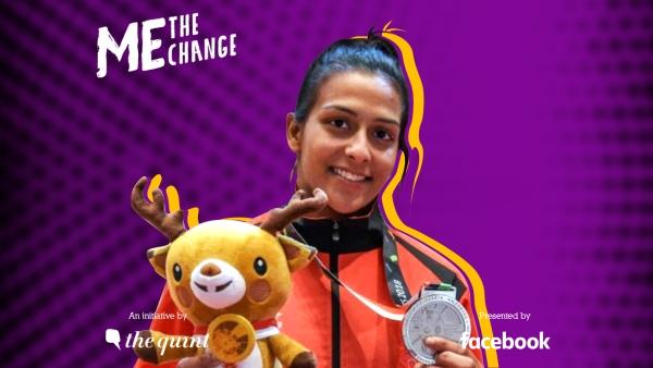 पिंकी बलहारा ने 2018 एशियाई खेलों में कुराश में भारत को सिल्वर मेडल दिलाया.