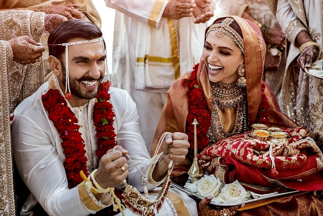बीते 14 और 15 नवंबर को इटली के लेक कोमो में दीपिका पादुकोण और रणवीर सिंह विवाह बंधन में बंध गए