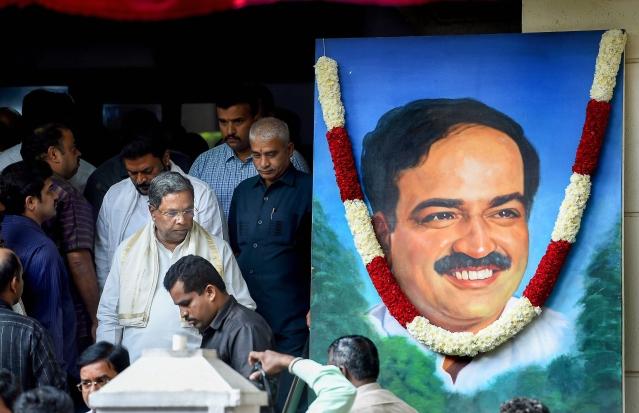 केंद्रीय मंत्री अनंत कुमार का 12 नवंबर को निधन हो गया था