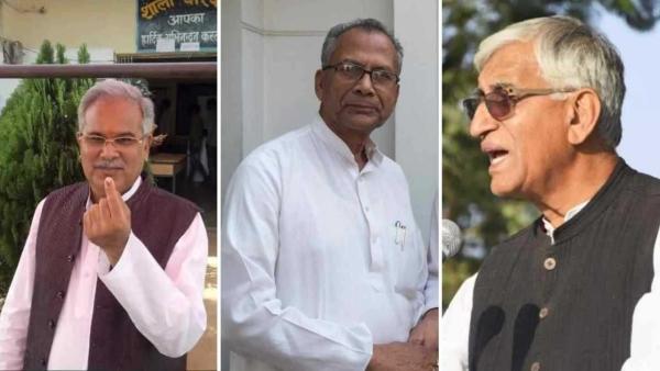 छत्तीसगढ़ में 15 साल बाद कांग्रेस सरकार, CM कौन? बघेल, देव या साहू