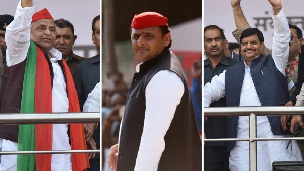Q लखनऊः ताज का दीदार हुआ महंगा, शिवपाल की रैली में पहुंचे मुलायम