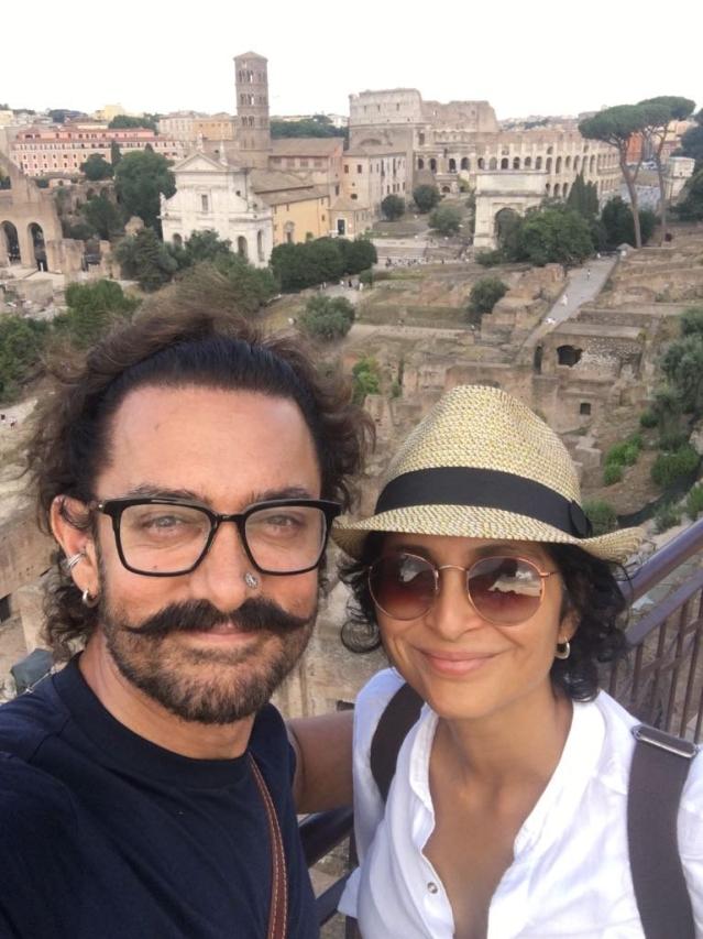 आमिर खान और किरन राव