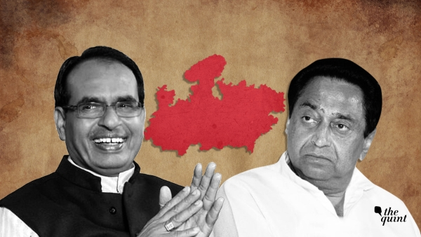 मध्य प्रदेश चुनाव नतीजे: कांग्रेस 113, बीजेपी 109 सीटों पर आगे