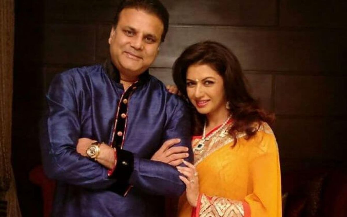 Image result for भाग्यश्री With Husband