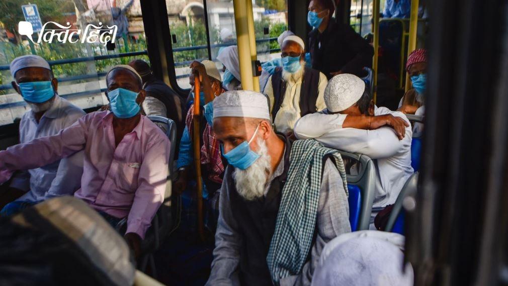 यूपी: निजामुद्दीन जमात से आए 17 विदेशियों सहित कुल 30 लोगों पर केस