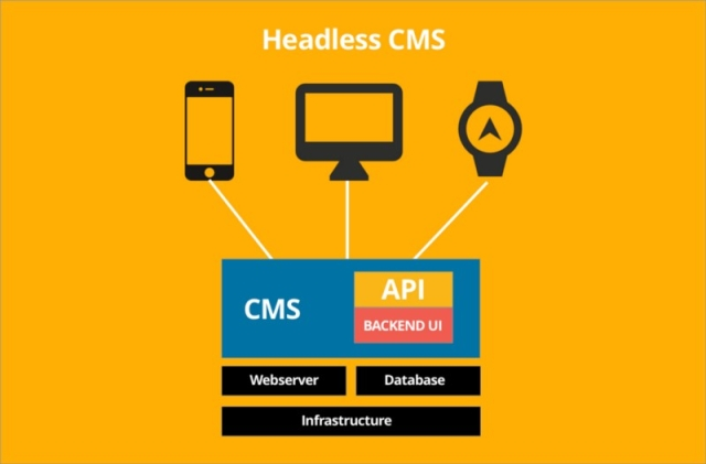 The headless CMS architecture