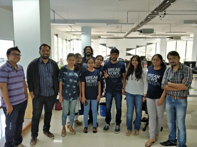 The participants of QA Meetup