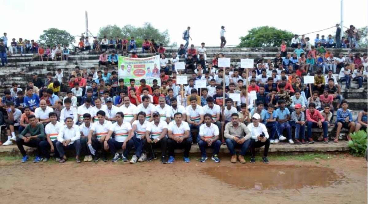 स्वच्छ भारत रैली व दौड़ प्रतियोगिता