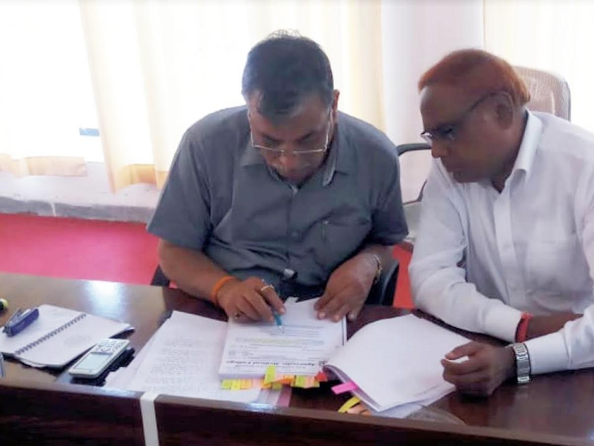 बुरहानपुर: ओबीसी एससी एसटी एकता मंच जिला अध्यक्ष ने की थी शिकायत